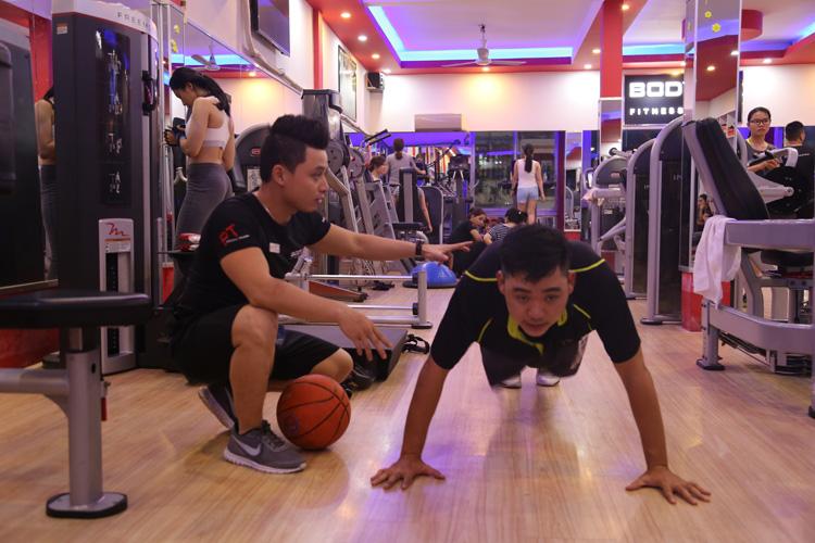 Tập luyện võ thuật