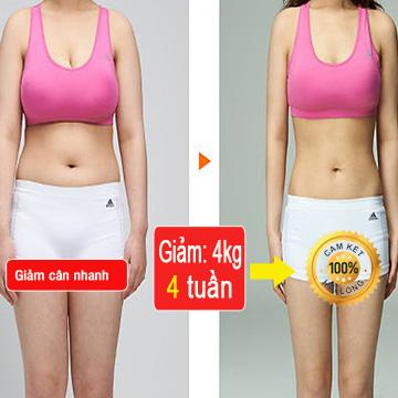 Gói tập giảm 4kg
