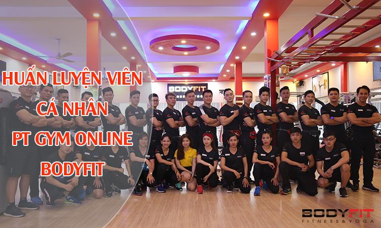 HLV cá nhân PT GYM online
