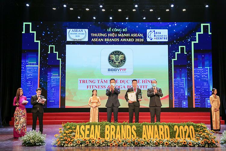 Bodyfit top 10 thương hiệu Asean Brands Award 2020