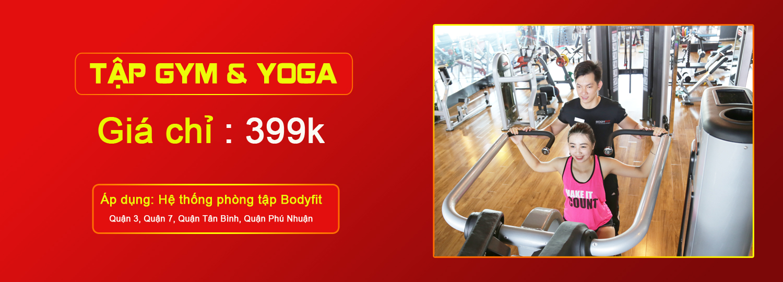 Tập gym va yoga